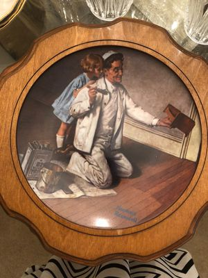 """Norman Rockwell Plate Number LL5826 Limited Edition Closed in 1983 """"The Painter"""" for Sale in Joliet, IL"""