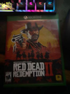 red dead redemption xbox one for Sale in Harrisonburg, VA