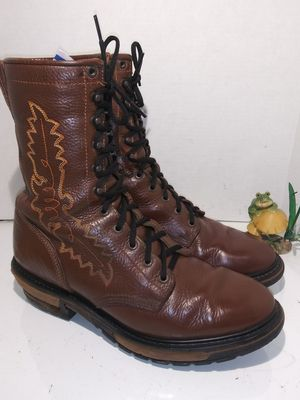 Rocky 2618 western packer collection spokane brown boots mens size 11M for Sale for sale  San Diego, CA