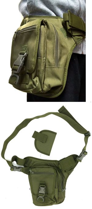 NEW! NEW! Tactical style Side Bag / Waist Pack holster Pouch concealed carry crossbody bag work bag biking hunting camping hiking fishing edc for Sale in Carson, CA