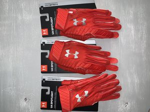 Under armour super glue football gloves for Sale in Phoenix, AZ