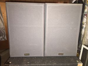 Yamaha NS-635A speakers painted and modified for Sale in Passaic, NJ