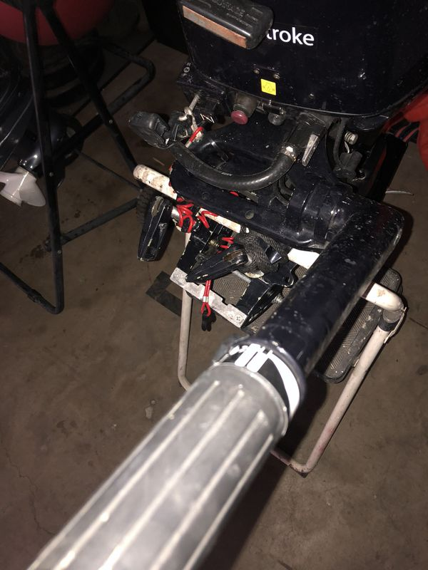 Nissan Marine 9.8 HP 4 Stroke Outboard Motor NSF9.8A3 $1499 OBO