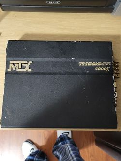 Mtx Thunder 4200X for Sale in Queens,  NY