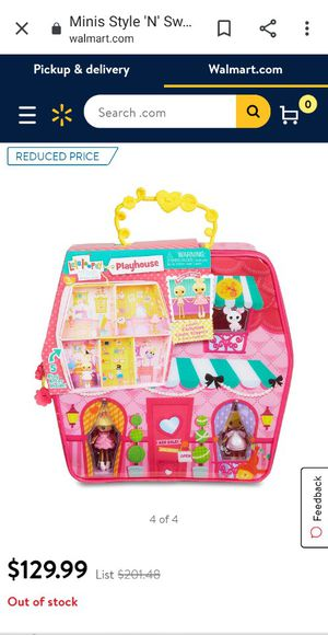 Minni lalaloopsy playhouse (carry along) for Sale in Richland, WA