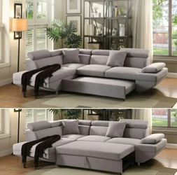 AVAILABLE SECTIONAL SOFA SLEEPER. $53 DOWN PAYMENT for Sale in Alafaya,  FL