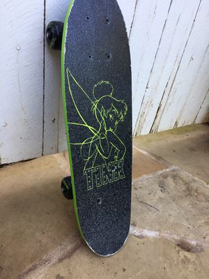 Tinker bell Disney 21x6 Mini Skateboard for Sale in Atlanta, GA