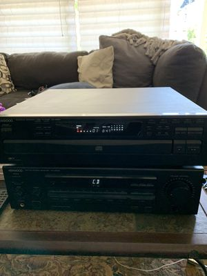 ⚐ Kenwood Compact Disc Player/ Stereo Receiver And Two Bose Speaker for Sale in Concord, CA