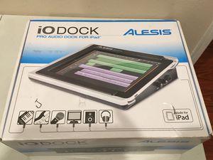 Alesis iO Dock pro audio dock for Apple IPad older gen for Sale in San Jose, CA
