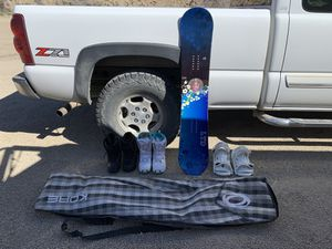 Youth LTD Snowboard & Accessories for Sale in Boulder City, NV