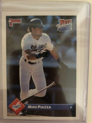 Mike Piazza Rookie Card Leaf 1992 209 for Sale in Atlanta, GA
