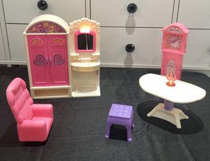 Vintage Goldlok Barbie Furniture Lot for Sale in Spokane, WA