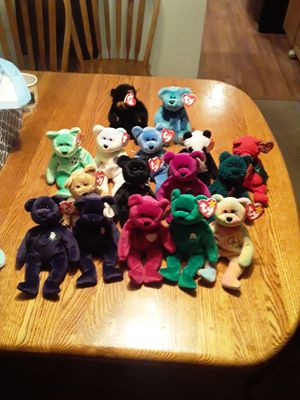 Ty Beanie Babies bears collection RARE some with tag errors for Sale in Federal Way, WA