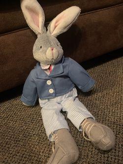 Stuffed Bunny In a Suit for Sale in Bensalem,  PA