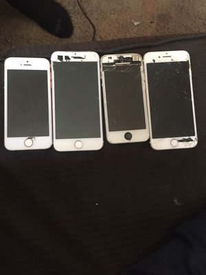 Iphones 7s and 5s for Sale in Phoenix, AZ