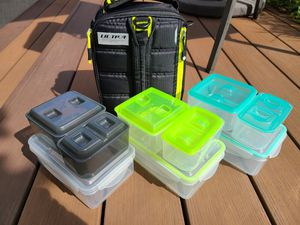 Arctic Zone Ultra Insulated Lunch Bag & Containers - $10 for Sale in Ruston, WA