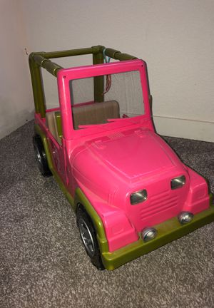 Our Generation Jeep BARELY USED (Fits American Girl Dolls) for Sale in Denver, CO