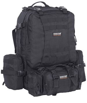 Seibertron Military Tactical Backpack Large Army 3 Day Assault Pack Waterproof Molle Bug Out Bag Backpacks Rucksacks for Outdoor Hiking Camping Trekk for Sale in Philadelphia, PA