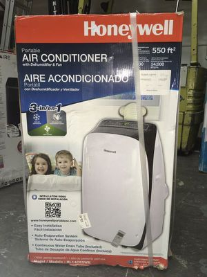 Air Conditioner Portable Aire Acondicionado Honeywell 14,000Btu 550Sq. Ft for Sale in Miami, FL