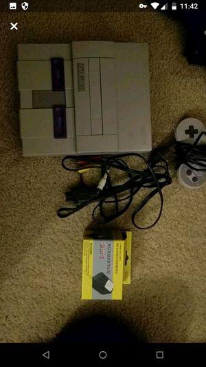 Super Nintendo SNES original for Sale in Bowie, MD