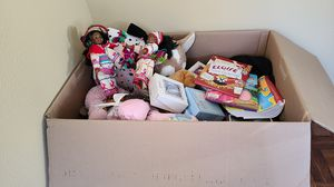 Box of Toys, Books, and Clothes for Sale in Huntington Beach, CA