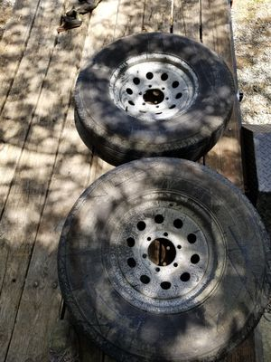 USED TRAILER WHEELS for Sale in Monroe, NC