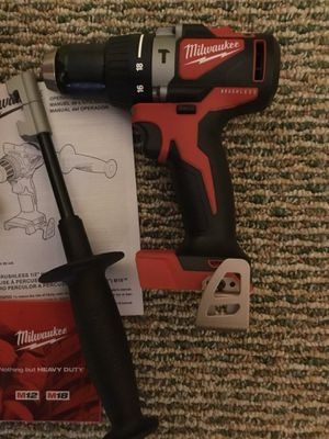 """Milwaukee. M18 Lithium Ion 1/2"""" Brushless Hammer Drill Driver (Tool Only). 2902-20. for Sale in Brooklyn, NY"""