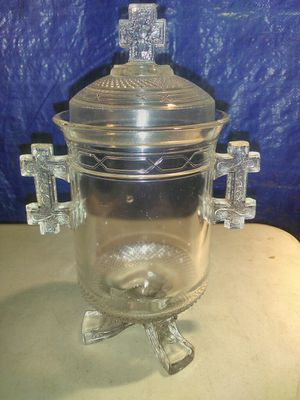 Crystal container( make an offer) for Sale in Garden Grove, CA