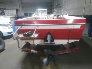 Marlin boat an trailer for Sale in Portland, OR