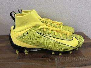 Nike Vapor Untouchable 3 Pro Football Cleats Yellow/Black Men Sz 10.5 for Sale in DeSoto, TX
