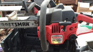 Craftsman 18 inch chainsaw for Sale in Yoncalla, OR