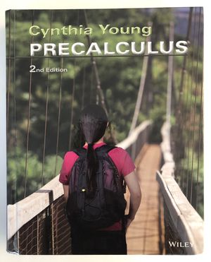 Precalculus 2nd Edition Hardcover Book by Cynthia Young - NEW for Sale in Crofton, MD