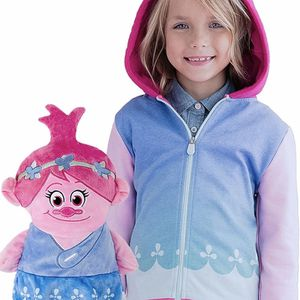 Poppy The Troll 2 in 1 Transforming Hoodie and Soft Plushie, Pink for Sale in Quitman, TX