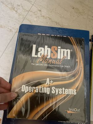 Lab Sim Manual set for Sale in Jamestown, NC