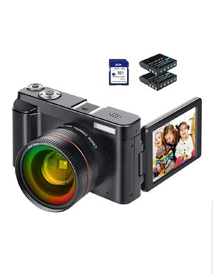 Full HD Video camera, camcorder, digital Camera all in one(BRAND NEW IN BOX) Excellent for vlogging for Sale in Brooklyn, NY