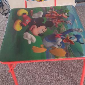 Kids Table & Chair for Sale in Manassas, VA