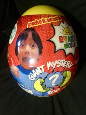 (LAST ONE) Ryan's world giant mystery egg for Sale in Downey, CA