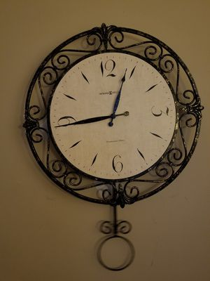 Westminster Chime Clock with Quartz Movement-$40 OBO for Sale in Norcross, GA