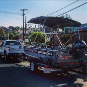 16ft Bass tracker aluminum boat for Sale in Vista, CA