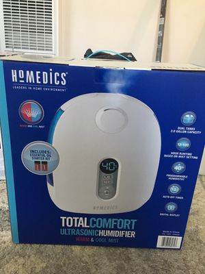 Homedics Ultrasonic Humidifier for Sale in Lakewood, CA