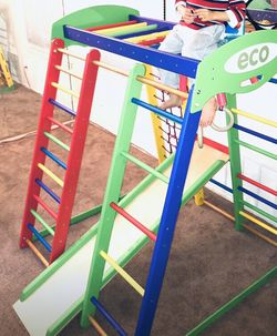 JUNGLE GYM:- WITH SLIDE, MONKEY BAR, LADDERS, RATTLE & STRING CLIMBER -( We Can Dismantle For You)- COMPLETE PARTS In Very good Condition for Sale in Maple Shade Township,  NJ