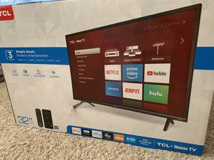 """TCL Smartv 32"""" for Sale in Katy, TX"""