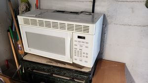 GE overhead microwave for Sale in Linthicum Heights, MD