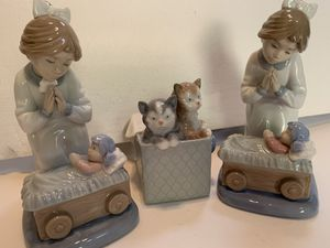 Three Nao by Lladro Collectible Figurines. for Sale in Virginia Beach, VA