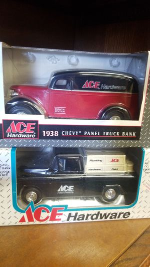 Vintage Ace metal coin banks for Sale, used