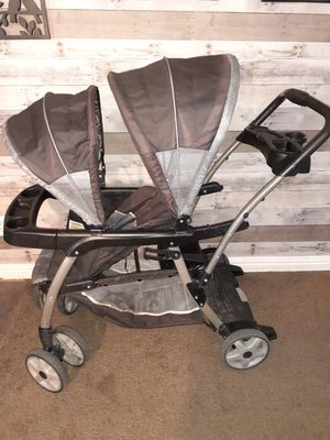 Sit and stand double stroller for Sale in Salt Lake City, UT