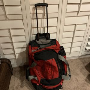 Duffle Bag Rolling Luggage Travel for Sale in Garden Grove, CA