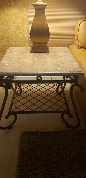 Set of Tables Marble tops! for Sale in Palm Shores, FL