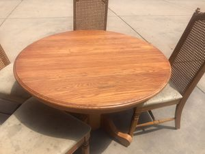 Kitchen table center piece and 5 chairs for Sale in Denver, CO