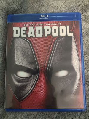 Deadpool Blu-ray + DVD combo pack for Sale in Port Orchard, WA